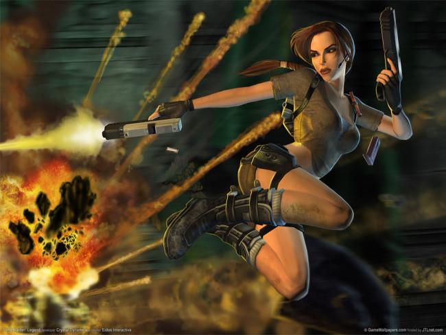 Tomb Raider - Anniversary #6 - Динозавр О_о.